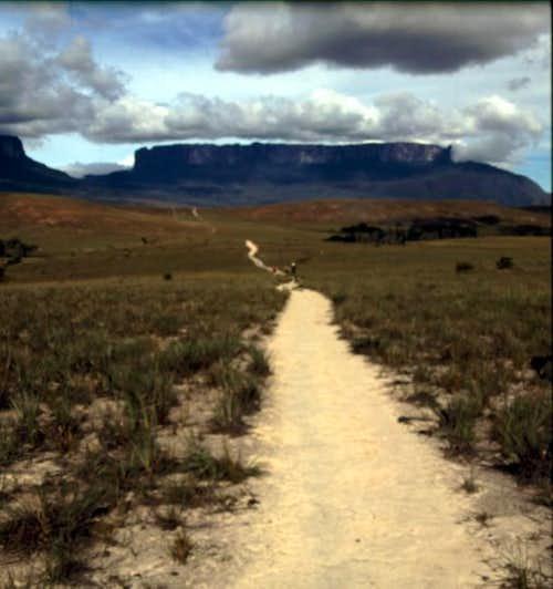 Way to Roraima crossing Pemon...