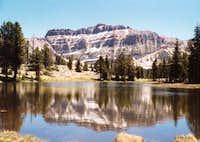 East face of Hayden Peak.