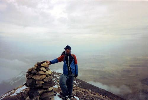 Fore summit of Erciyes