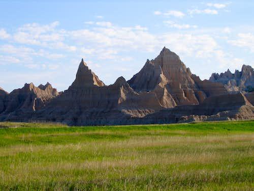 Badlands near Cedar Pass