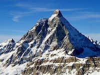 Matterhorn from Plateau Rosa ( 3480 mt )
