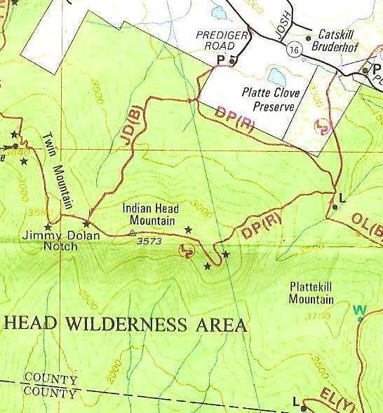 Devils Path eastern terminus (catskills)