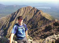 Pamola Peak and the Chimney