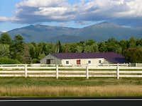Mt. Jefferson and Mt. Adams