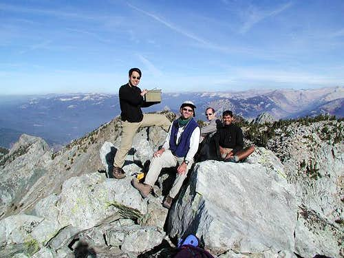 On the summit on October 28,...