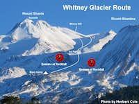 Whitney Glacier Route