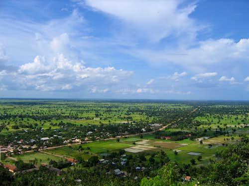 View from Phnom Sampeou