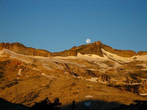 Full Moon and Crystal Range