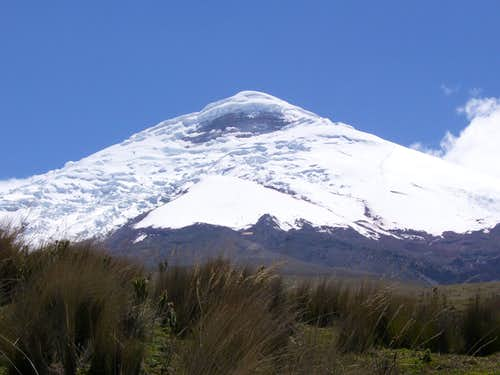 Cotopaxi from the north