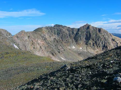 Desolation Peaks from the...