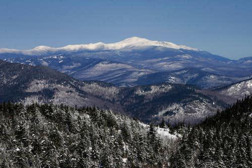 View of mt Washington from Mt Chocorua