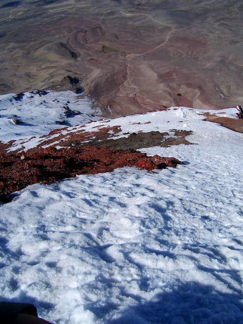 Looking off Chimborazo