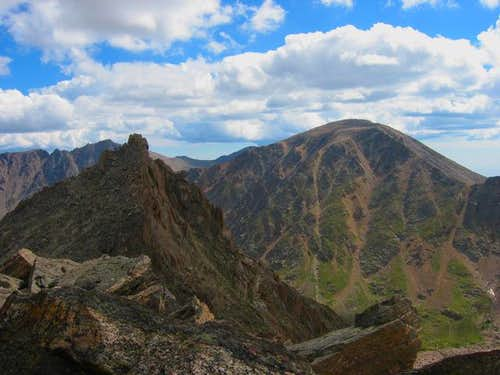 The summit of Desolation with...
