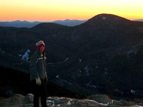 Sunset at Sam Knob