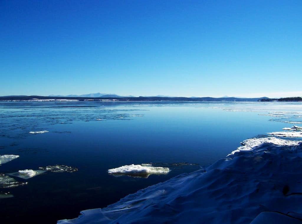Lake Champlain and Green Mountains