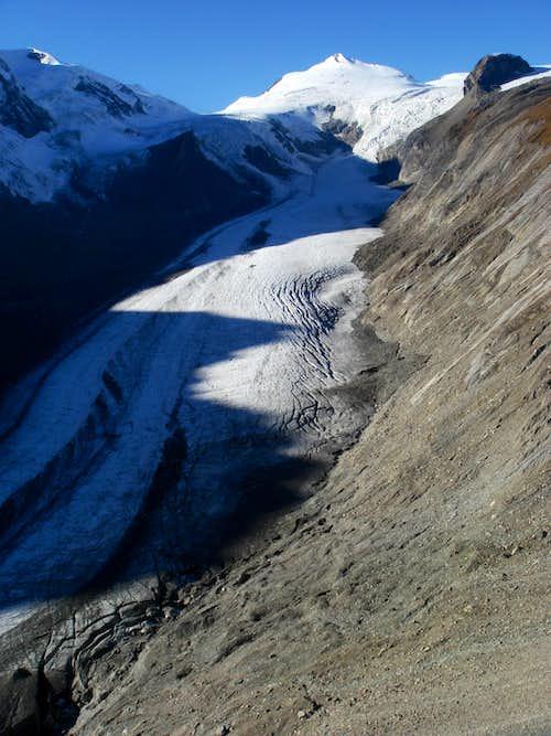 Johannisberg & Pasterze glacier