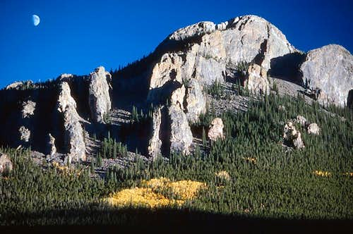 The Twin Sisters Crags