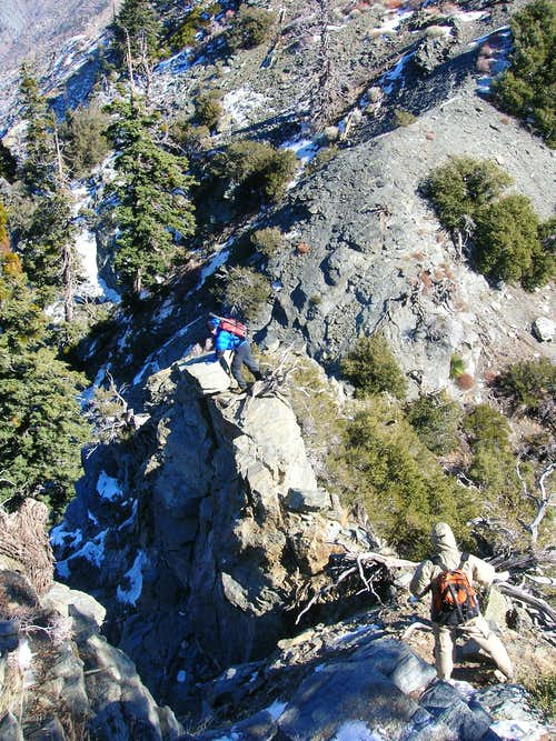 Iron Mountain to Mt. Baldy Traverse