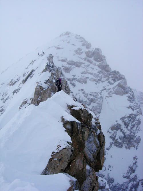 Buck Mountain form its East Ridge