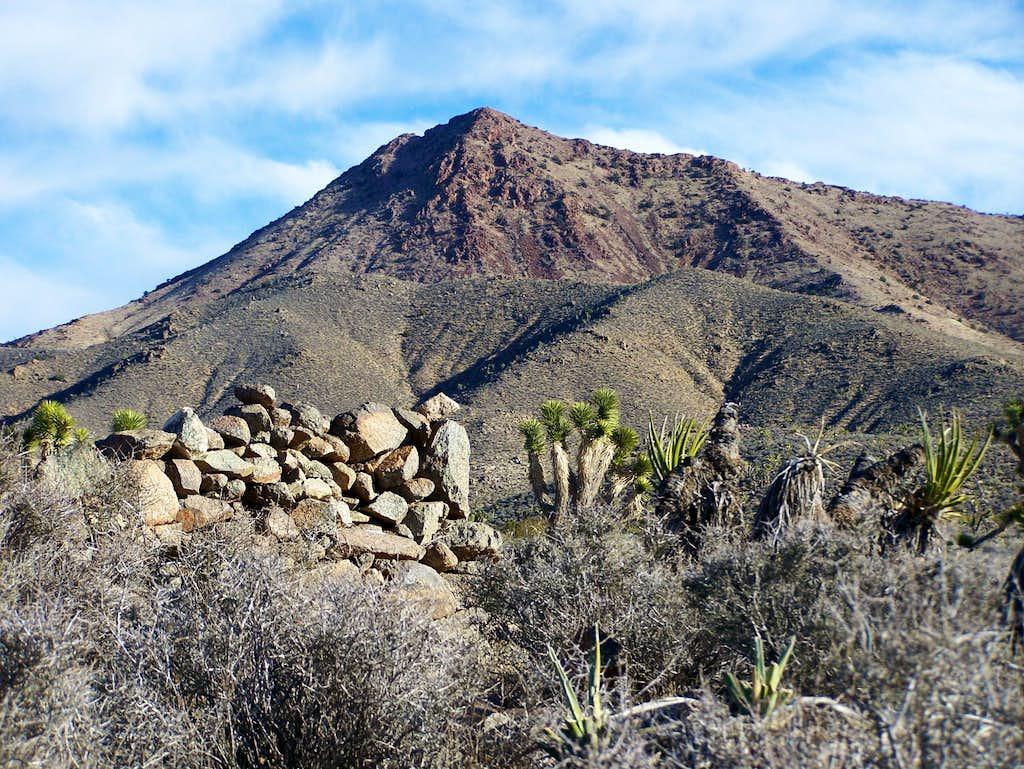 Boulders and Crescent Peak