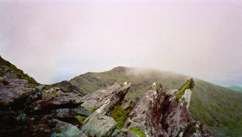 Looking back on the ridge...