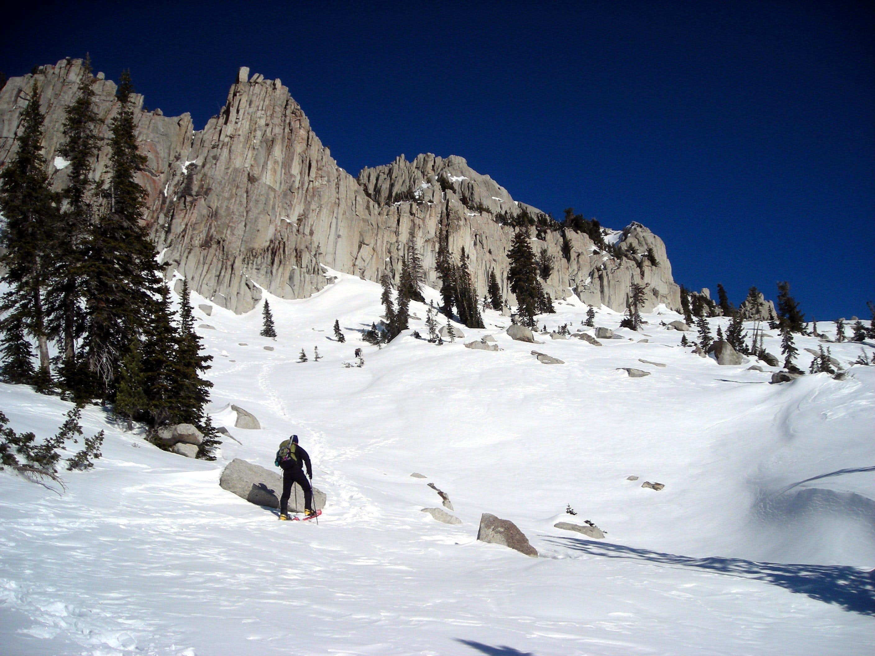Wasatch Mountain Club\'s 2007 Winter Ascent of Lone Peak