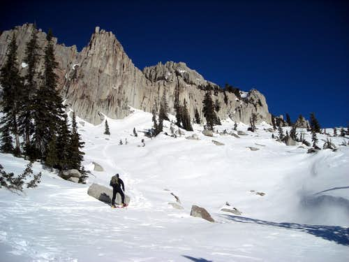 High winter route