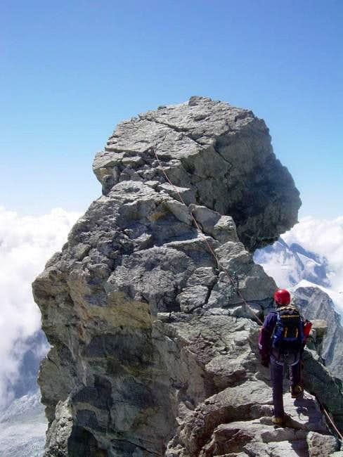 Ridge of the Zinalrothorn 2