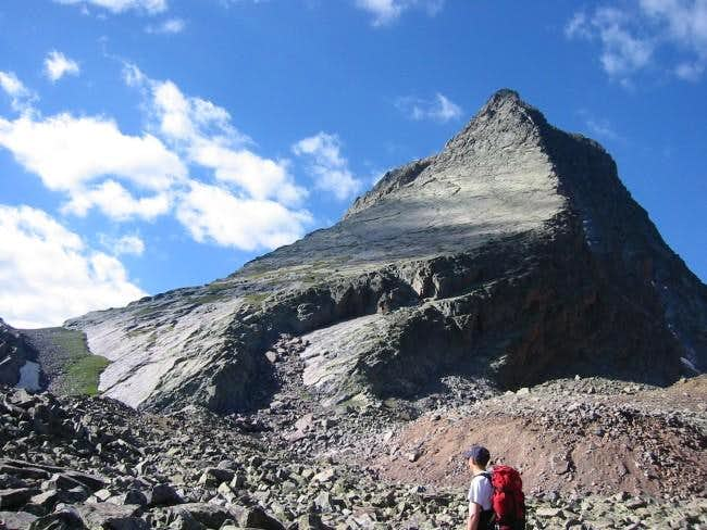 View of Wham Ridge from the...