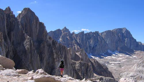 Mount Whitney & Muir From Arc Pass
