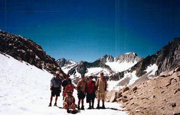 Mono Pass - just below Mount...