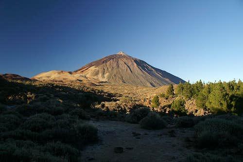 El Teide in the early morning light