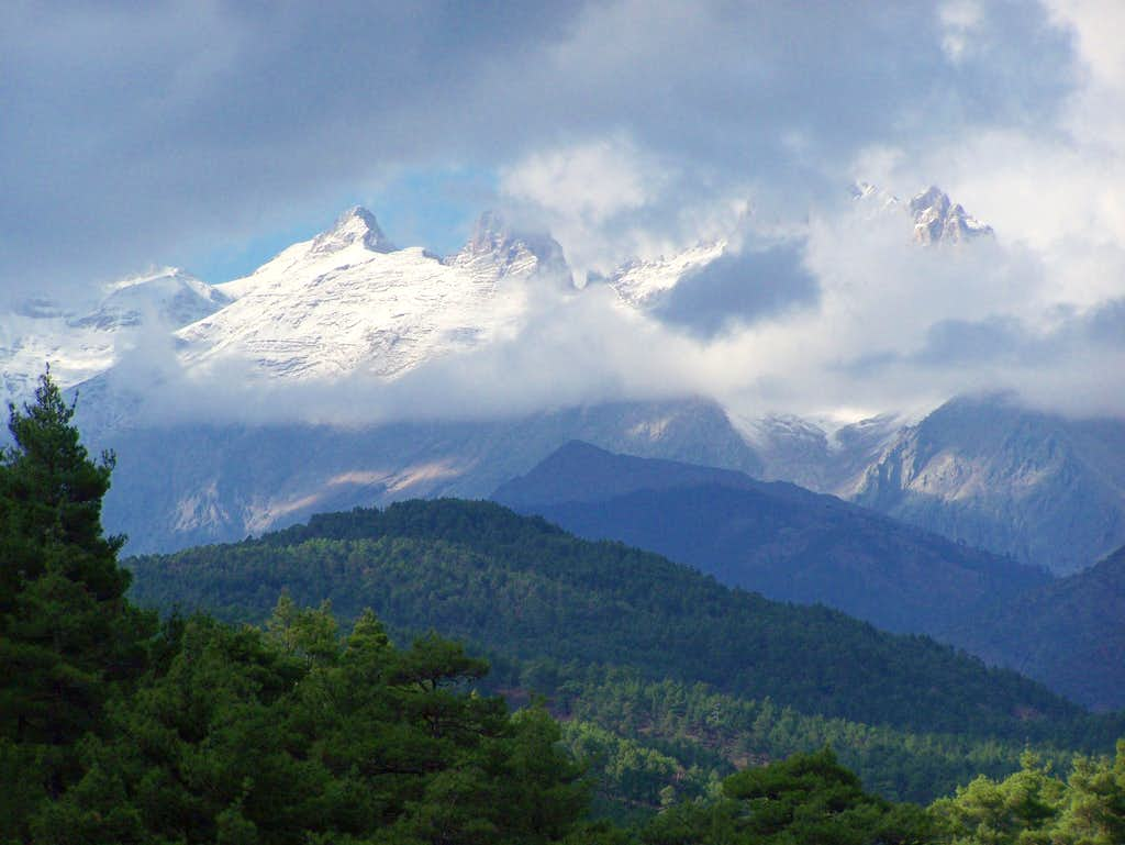 Southern Face of Aladaglar Mountains