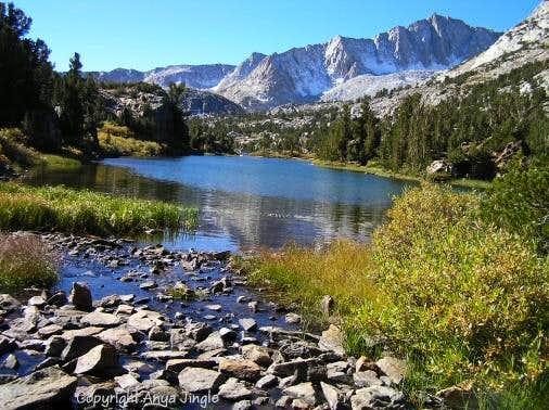 Long Lake in the Sierras