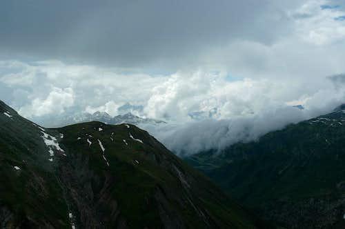Rhône valley, Bernese Alps