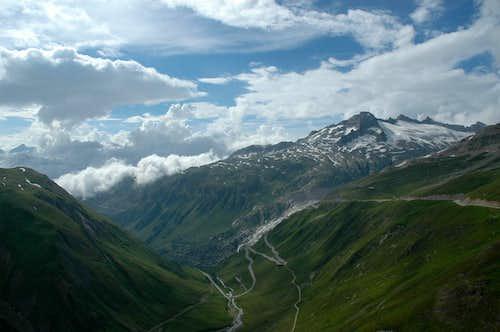 Rhöne valley, Gärstenhörner