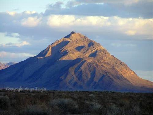 Eagle Mountain in late afternoon light