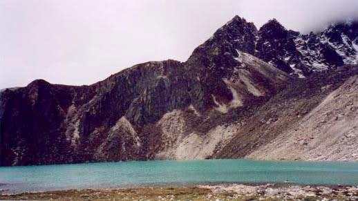 Gokyo Lake. You'll know...