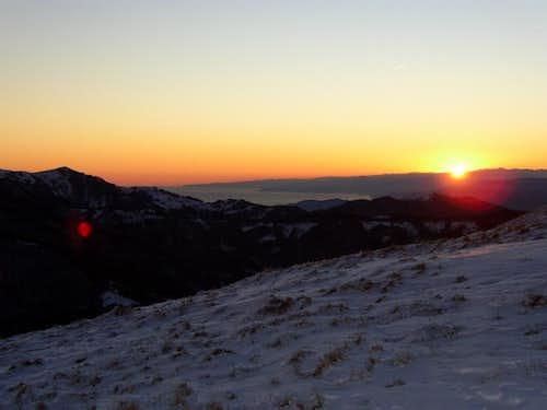 Antola sunset