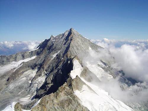 Schalli-ridge of Weisshorn...