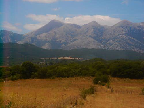 Psili Korfi eastern exposure