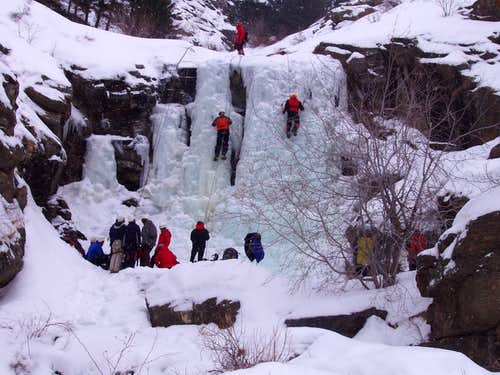 Upper Falls Clear Creek Canyon