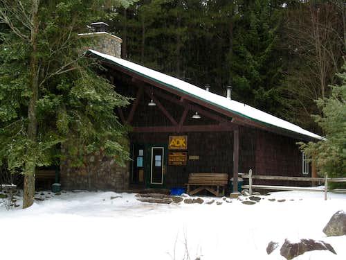 ADK LOJ, High Peaks Info Center & Van Hoevenberg Trail Parking