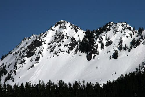 Kendall Peak as seen from Kendall Knob