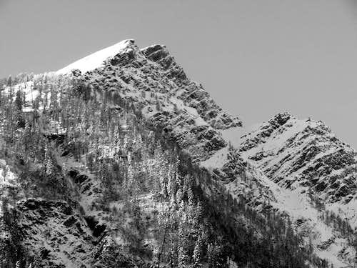 Il mont Chetif (2343 m)