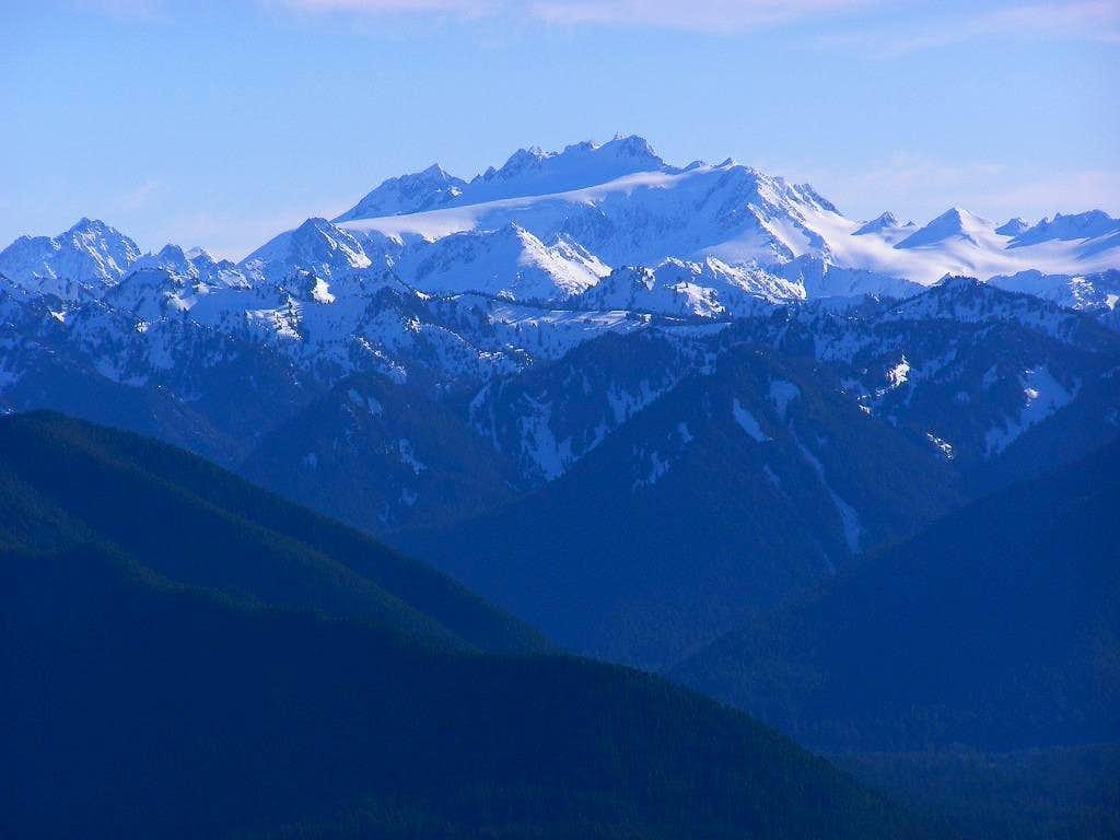 Mt. Olympus in winter : Photos, Diagrams & Topos : SummitPost