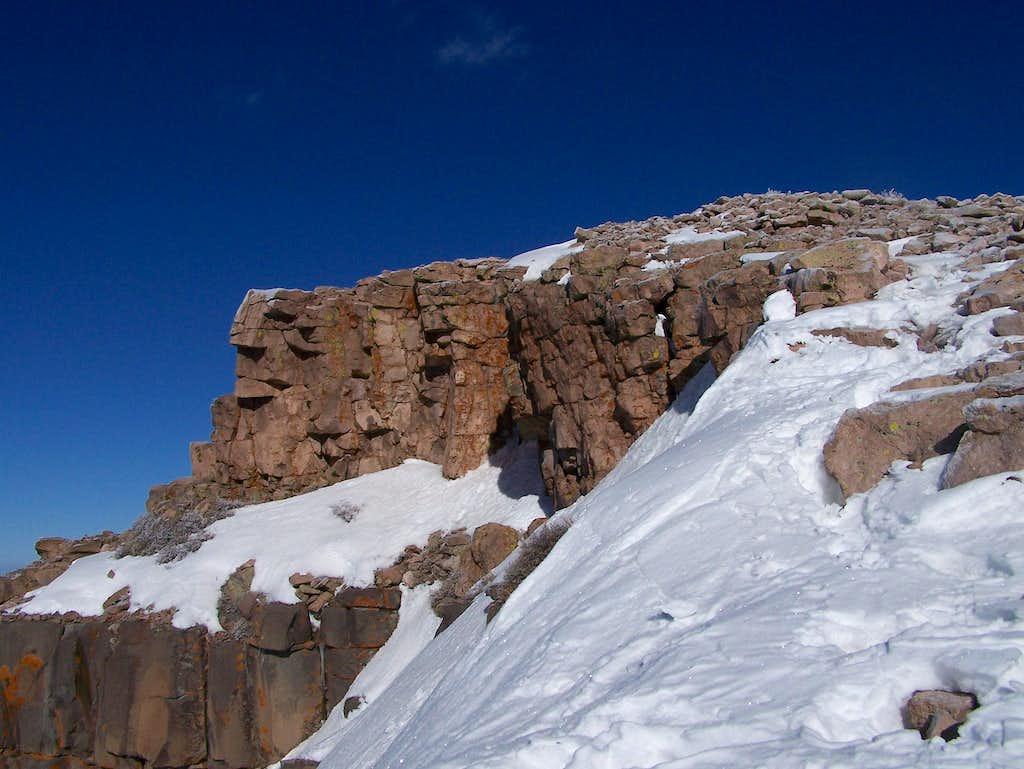 Cliffs on Brian Head