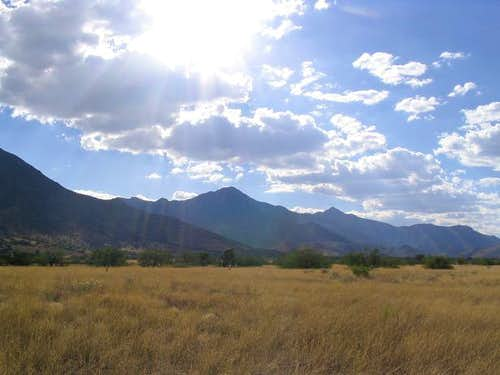 Arizona's Top 100 Peaks by Prominence