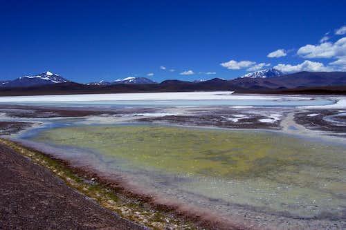 Laguna Brava and Pissis, Veladero etc