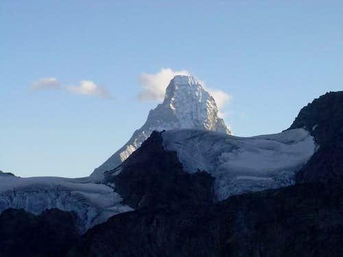 Matterhorn seen from the...